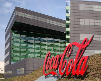 The Coca-Cola building in Madrid.