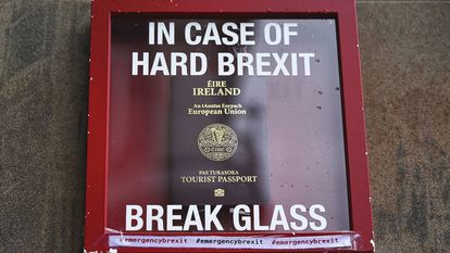An Irish passport showcased as the answer to a hard Brexit.