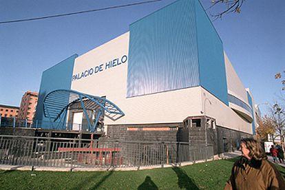 Madrid's ice rink Palacio de Hielo in Hortaleza district.
