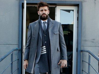 Gerard Piqué in a photo he shared on Instagram.