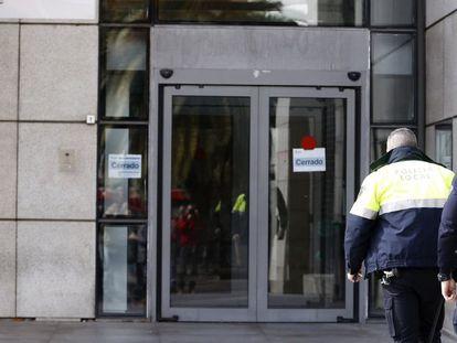 The latest anti-corruption raid took place in Getafe (Madrid) on Monday.