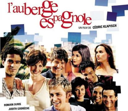 """Poster from the movie """"L'auberge espagnole."""""""