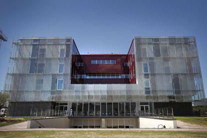 La Masia's new headquarters.
