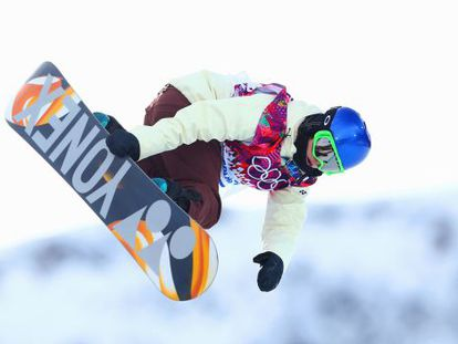 Queralt Castellet of Spain competes in the Snowboard Women's Halfpipe Qualification Heats on day five of the Sochi 2014 Winter Olympics.