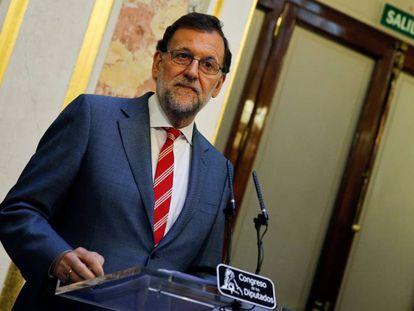 Mariano Rajoy on Thursday evening.