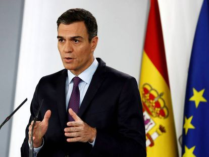 Spanish Prime Minister Pedro Sánchez.