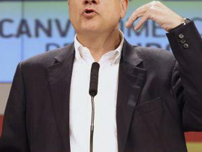 PSC leader Pere Navarro.