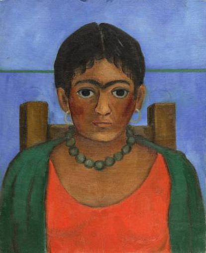 'Niña con collar' by Frida Kahlo.