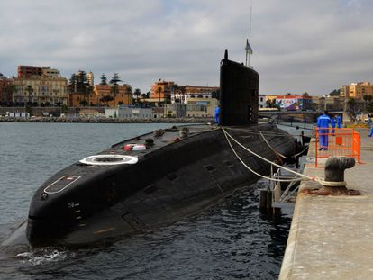 The Russian submarine 'Novorossiysk' called into the port of Ceuta in August of last year.