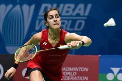Carolina Marín became the first European to win a gold medal in the women's badminton event at the Olympics.