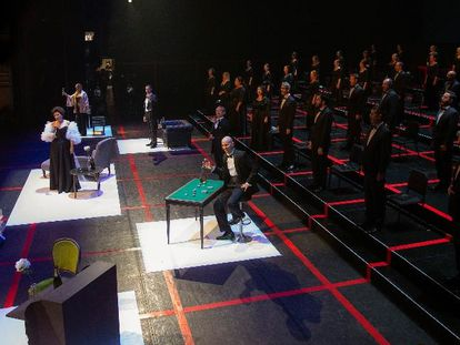 The new production of 'La Traviata' at the Teatro Real.