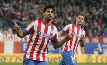 Atlético Madrid forward Diego Costa is the competition's top scorer this season.
