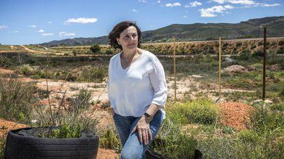 María José Tortosa, the mayor of Vallada who also works as a nurse.