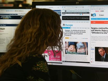 Online newspapers may benefit from the new intellectual property law.