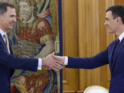 The king and Sánchez meet on Tuesday.