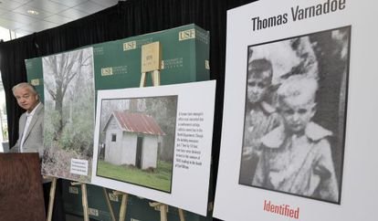 Glen Varnadoe is the nephew of one of the children whose remains was found in a grave at the school in Marianna, Florida.