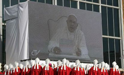 Some 20,000 people attended the beatification ceremony in Tarragona, which included a video message from the pope.