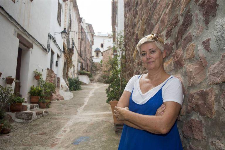 Informal tourist guide Susana Meseguer.