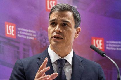 PSEO leader Pedro Sánchez.