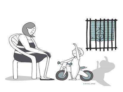 A cartoon from 'Abueland.'