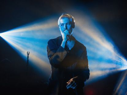 US singer Matisyahu during a concert in Seattle.