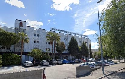 The Casablanca Valdesur nursing home in Valdemoro, in the south of the Madrid region.