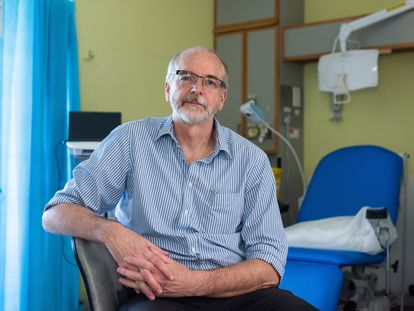 Professor Andrew Pollard, the director of the Oxford Vaccines Group, in a photo supplied by the university.