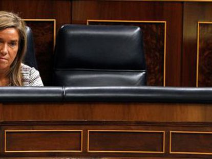 Health Minister Ana Mato in Congress on Wednesday.