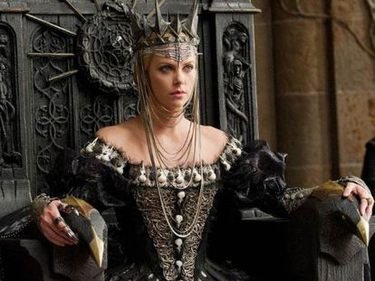 Charlize Theron as the wicked queen in 'Snow White and the Huntsman.'