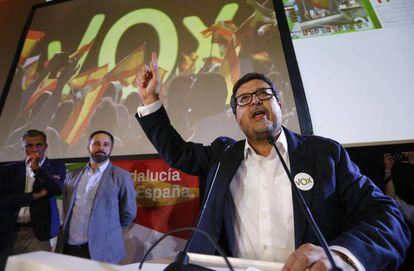Vox leader in Andalusia Francisco Serrano.