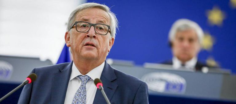 The president of the European Commission, Jean-Claude Juncker.