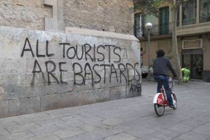 Anti-tourist sentiment has cropped up in some cities.