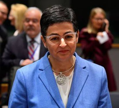 Spain's Minister of Foreign Affairs Arancha Gonzalez Laya.