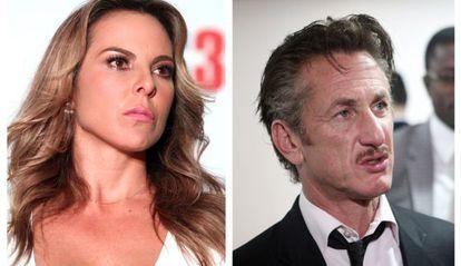 Kate del Castillo and Sean Penn.