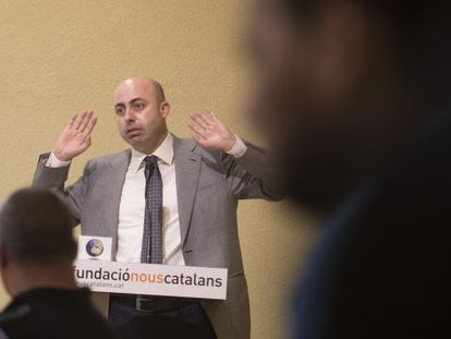Noureddine Ziani pictured at a Nous Catalans act this month.