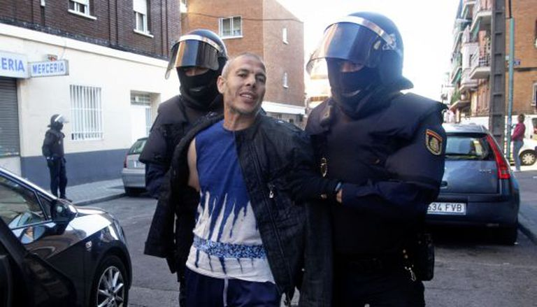 Lahcen Ikassrien was arrested in June as part of a raid against Islamic radicals.