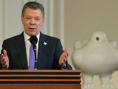 Colombian President Juan Manuel Santos.
