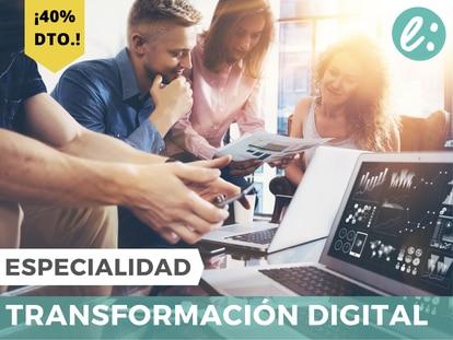 Especialízate en la implementación de estrategias digitales. ¡40% de dto.!