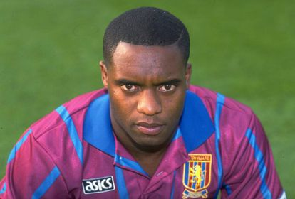Dalian Atkinson during his time at Aston Villa.