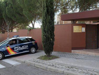 The North Korean embassy in Madrid.