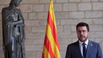 Catalan premier Pere Aragonès.