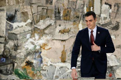 Prime Minister Pedro Sánchez.