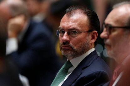 Mexico's Foreign Minister Luis Videgaray.