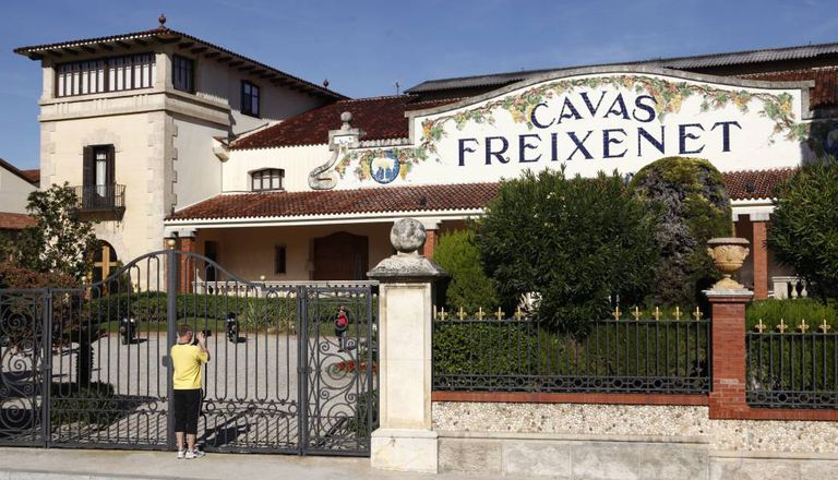 The Freixenet winery and headquarters in Sant Sadurní d'Anoia.