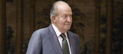 Former king of Spain, Juan Carlos I.