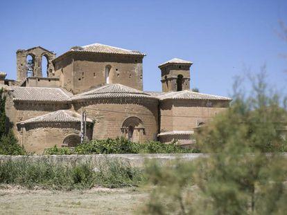The monastery of Vilanueva de Sijena.