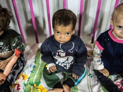 Children of ISIS fighters have an uncertain future ahead of them.