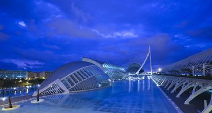 The City of Arts and Sciences in Valencia.
