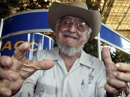 Ramón Castro at the opening of the International Fair of Havana in 2006.