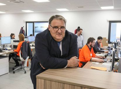 Nacex operations director Pablo Román said the company had to be in Coslada no matter what.